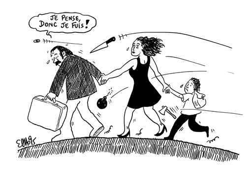 AHLIL album Cheikh Sidi Bémol; dessin d'Elho